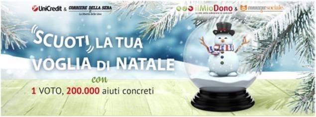 Risultati IL MIO DONO  – Winter Edition