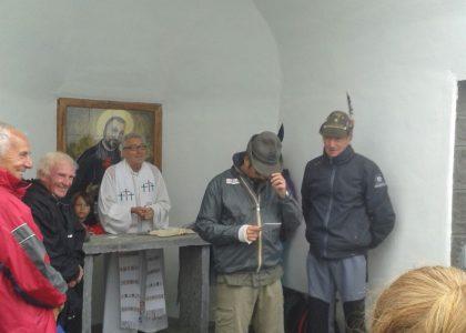 Lago della Rossa (Usseglio): Festa San Camillo de Lellis