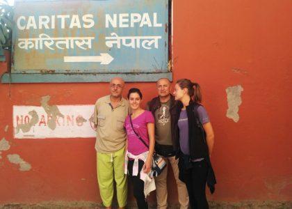 Nepal: i primi 4 infermieri a Katmandu