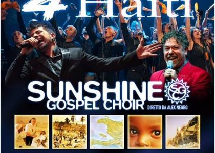 Sunshine Gospel Choir in concerto