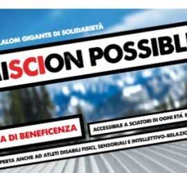 MiSCIon Possible – Uno slalom gigante di solidarietà