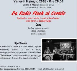 Da Radio Flash al Cortile