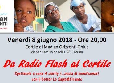 Da Radio Flash al Cortile