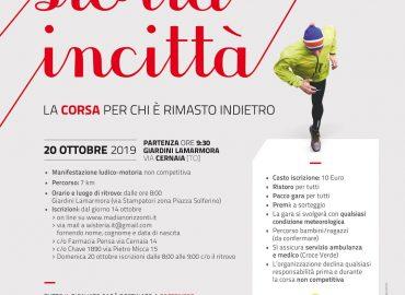 Domenica 20 Ottobre 2019 – Tuttastortaincittà